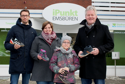 Kinder-Schuh Aktion Citymanagement